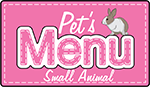 Pets Menu Small Animals